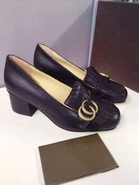 Wholesale Four Seasons single shoe market top version best prices fringed leather fabric material using six bonded bronze metal with cm high