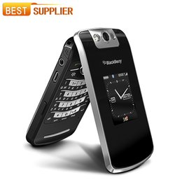 Wholesale 100 Original Blackberry Pearl Flip Mobile Phone quot TFT Screen MP Camera GSM WIFI Unlocked Factory Refurbished