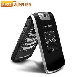 Wholesale 100 Original Blackberry Pearl Flip Mobile Phone quot TFT Screen MP Camera GSM WIFI Unlocked Factory Refurbished