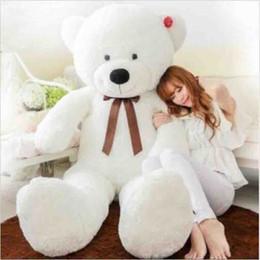 2017 ours saint valentin cadeau géant Giant énorme animal en peluche poupée ours blanc peluche en peluche amoureux des jouets cadeaux de la Saint-Valentin 120cm ours saint valentin cadeau géant sortie