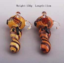 Hot Selling Glass Smoking Pipes Glass Bubbler Glass Handpipe Colorful Style Factory Supply Directly Free Shipping