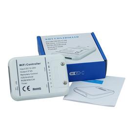 1pcs DC12-24V 20A MINI WIFI led controller,Timing function,smart rgb wifi led controller for rgb warm white cold white led strip