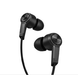 Wholesale Original Xiaomi Piston Earphone mm Xiaomi Standard Edition Bass Earphones Headset With Remote Mic Retail Package