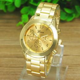 watches women fashion watch 2016 New Geneva Ladies Women Girl Unisex Stainless Steel Quartz Wrist Watch Orologio