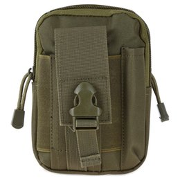 Wholesale bag female Colors D Oxford Waist Bag Utility Compatible Sports Bags Tactical Molle EDC Outdoor Gear Big Zipped Travel