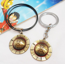One Piece Road fly hat necklace pendant key ring animation around