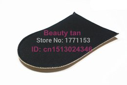 Wholesale lotion spray Self Tan Mitt Tan Applicator of Tanning Lotion Spray Tan for Bronzer Soft Velvet can be reusable