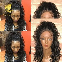 180% Density Body Wave Malaysian Lace Front Human Hair Wigs for black women Glueless Full Lace Wigs