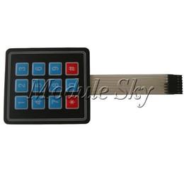 Wholesale Matrix Array Key Membrane Switch Keypad Keyboard for Arduino AVR PI C