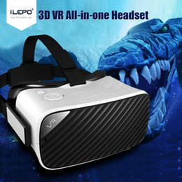 Wholesale Best VR Headsets All in one VR D Glasses VR Headset Andriod6 OS WIFI2 G BT4 Support OTG and Outside Enlarge Active D Glasses