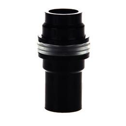 Wholesale Fish Tank conector de plástico de PVC de mm a prueba de agua accesorios mm mm mm Negro acuario ABS a prueba de fugas del tubo