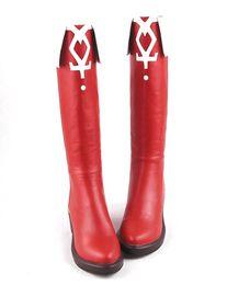 Wholesale-Puella Magi Madoka Magica Cosplay Sakura Kyoko HI-Q Women's Shoes High Boots High-Heeled Shoes