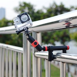 Action Video Clamp With Locking Arm to Use Anti-Vibration Mount for GoPro and Other Action Video Cameras