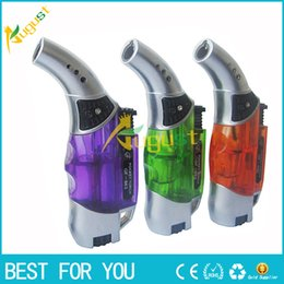 Wholesale 2016 butane lighter gas lighter for cigarettes new spray gun lighter click n vape advanced vaporizer torch lighter usb lighter