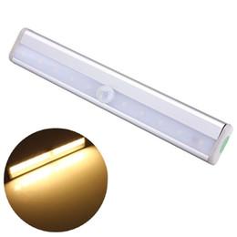 Placards blancs en Ligne-Lumière de mur de lumière de nuit de capteur de mouvement