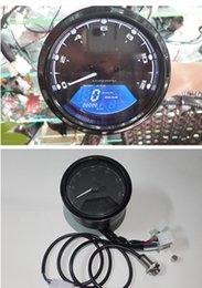 Wholesale universal motorcycle multifunctional meter rpm KMH MPH LCD motorcycle speedometer