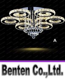 2017 montaje en el techo accesorios de iluminación Lámpara de techo moderna LED luminarias Lámpara de diamante Lámpara de techo de cristal LED Lámpara de techo empotrada redonda Lustres LLFA descuento montaje en el techo accesorios de iluminación