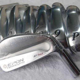 Hot sale New mens Golf Heads AF TOUR Forged Golf Irons Heads 3-9P Irons clubs heads Free shipping