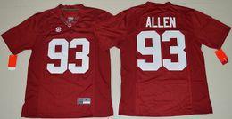 Wholesale 2016 New Arrival Alabama Crimson Tide Jonathan Allen College Football Limited Jersey Crimson Men Elite Jersey