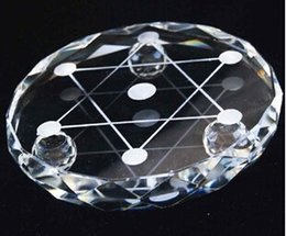 Wholesale White crystal cm diameter stand base matrix base