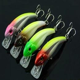 Wholesale HENGJIA Cranbaits Fishing Lure Bait trackle hard plastic lure Floating trout Minnow CM G hooks