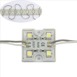 DC12V 5050 4 LED Modules Waterproof 100pcs LED Modules for holiday outdoor led Light Lamp multi color white red green blue