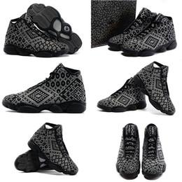 Promotion chaussures de sport pas cher New Livraison gratuite Air à bas prix réel d'un original Retro 13 XIII Mens Basketball Chaussures Horizon PRM PSNY espadrille chaussures 13s Sport Bottes