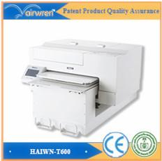 Wholesale best selling digital printer textile a2 color white ink dtg printers for sale for Haiwn t600 t shirt printer