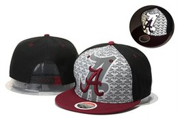 Wholesale Alabama Crimson Tide Basketball Caps Snapback College Football Hats Adjustable Cap New Style Cheap Alabama Hat