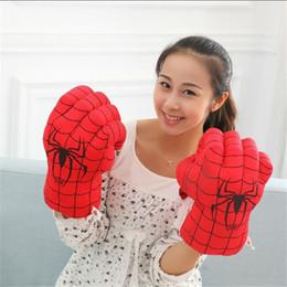 Boîte d'araignée jouet à vendre-1pair Spider-Man gants de boxe jouet jouet amusant grande taille bon cadeau pour les enfants jouet de bébé