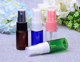 300Pcs lot 10ml Portable Refillable Plastic Makeup Water Perfume Perfume Atomizer Spray Bottle Set (Transparent,Green,Blue,Amber)
