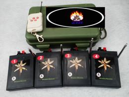 2017 les types d'incendie feu de Radio type de taille à distance de fil électronique 4 Queues antenne Fireworks système Firing commutateur de mariage 300m Allumage électronique Télécommande les types d'incendie autorisation