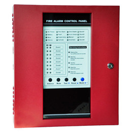 8 Zones Conventional Fire Alarm Controller Fire Control panel with 2 Sound Output Alarm Control Panel fire alarm system FACP