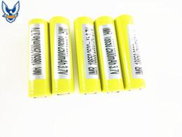 Wholesale 100 Authentic Battery v mAh High Drain A PK LG HG2 HE4 Sony VTC5 VTC4 HE4 MJ1 Fedex