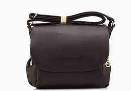 Classic Brand Style PU Leather Women's Flap Messenger Bags Crossbody Single Shoulder Bags Travel Hiking OL Zipper Bag Rucksack