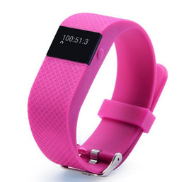Wholesale fitbit TW64S TW64 Fitbit flex smartband Charge HR Activity Wristband Wireless Heart Rate monitor OLED Display smart bracelet better