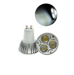 Wholesale Super Luminosa Lampadina A LED GU10 Lampada del Riflettore Watt Bianco Freddo Da Incasso LM Ad Alta Potenza AC V