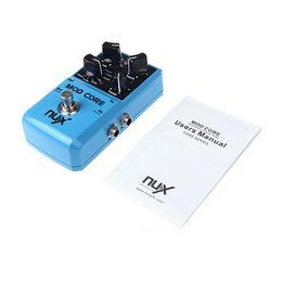 Efectos de modulación en Línea-2016 NUX MOD Pedal de Efecto de Guitarra Básico Efecto de Modulación Efectos de Modulación Preset Tone Lock Alta Calidad Accesorios de Guitarra Accesorios