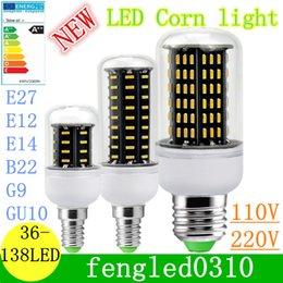 Wholesale 5 Unit Ultra Bright Led Bulb E27 E14 GU10 G9 Led Lights SMD Led Corn Lights AC V lamp bulbs deg Spotlight