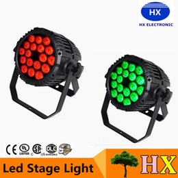 Wholesale Free delivery Top selling X10W Silent IP65 Outdoor RGBW RGBA Quad color in1 LED Par Can