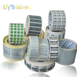 Des étiquettes en feuille imprimées en Ligne-Impression personnalisée d'étiquettes en papier de texte, impression papier autocollant papier glacé, coins laminés / feuilletés / découpés en coin ou formes