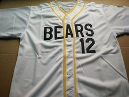 Wholesale Bad News Bears Tanner Boyle Kelly Leak Baseball Jersey Sewn Numbers S M L XL XXL XXXL