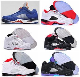 Wholesale 2016 Air Retro men basketball shoes Green Bean Mark Ballas bin Fire Red Athletics sneakers sz Retros s V superstar sup sale