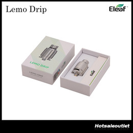 Authentic Eleaf Lemo Drip RDA Atomizer the First Rebuildable Drip Atomizer (RDA) by Eleaf 100% Original