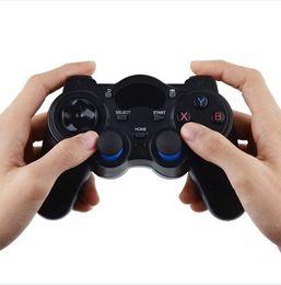 Joystick usb en Línea-2.4G Gamepad Android Controllers USB Joysticks controlador inalámbrico del juego para Android TV Box Xiaomi PC Game Controller