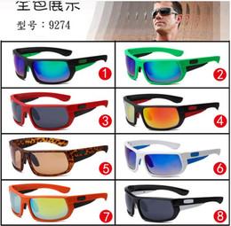 Polyuréthane plastique à vendre-Nouvelle arrivée SUMMER miroir cadre en plastique vélo lunettes de soleil hommes femmes sprot lunettes de soleil lunettes de marque designer 8colors freeship 9274