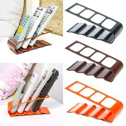 Wholesale NEWVCR DVD TV Remote Control CellPhone Stand Holder Slots Storage Caddy Organiser Tools