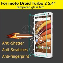 Wholesale 2 D H For Motorola Moto X Force Moto Droid Turbo Premium Tempered Glass Explosion Proof Screen Protector Film guard Without Retail box