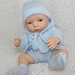 Wholesale 40cm Simulation Baby Doll Cute Sweet Little Baby Silicone Vinyl Babydoll Babies Adora Dolls Kids Toys Bebe Reborn Menina Bonecas