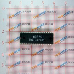 Wholesale M61316SP SDIP32 I2C BUS CONTROLLED VIDEO PRE AMP FOR HIGH RESOLUTION COLOR DISPLAY mW V